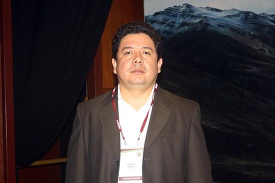 Carlos Salazar, gerente de Geología y Exploraciones de Hudbay
