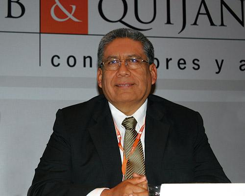 César Butrón, presidente del COES