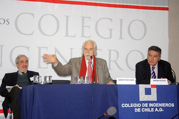 Roberto Sarudianski, Roberto Villas Boas y Edmundo Tulcanaza