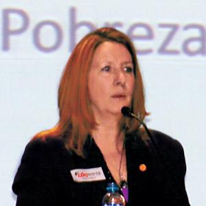Joanne Freeze, CEO de Candente Copper Corp.
