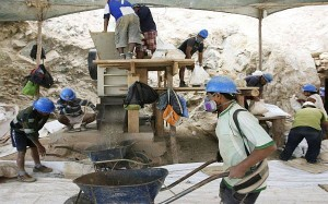 mineros informales