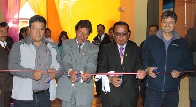 Hernando Arizabal dir_Fundación Tintaya_ Jesús Apaza dir_UGEL Espinar_ Jesús Carpio, dir_Cree_ David Vásques get RRCC Antapaccay