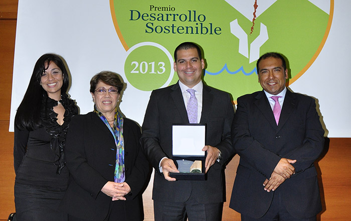 Hudbay Perú obtuvo el Premio Desarrollo Sostenible 2013