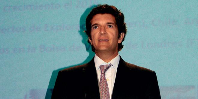 Ignacio Bustamante, CEO de Hochschild Mining Plc
