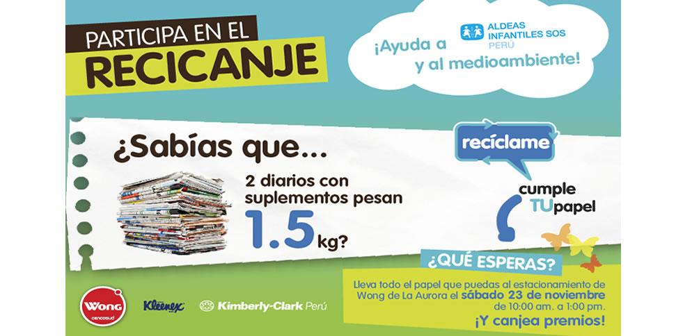 KimberlyClark-con-su-programa-Recíclame-Cumple-TU-Papel-y-Supermercados-Wong-UNIDOS-por-el-reciclaje