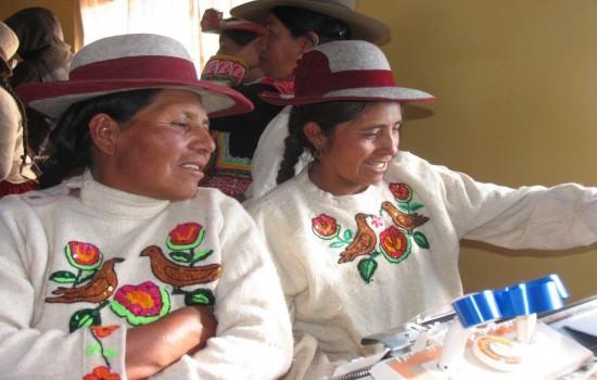 Xstrata Copper taller textil Cusco