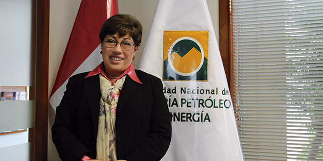 Eva Arias, presidenta de la Sociedada Nacional de Minería (SNMPE)