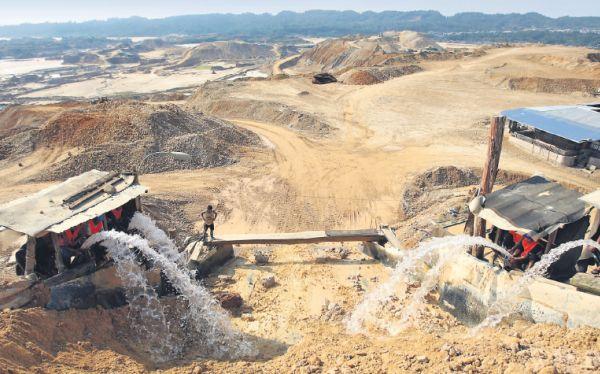 En Lambayeque hay 45 empresas que realizan minería ilegal