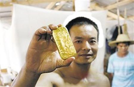 mineros chinos ilegales