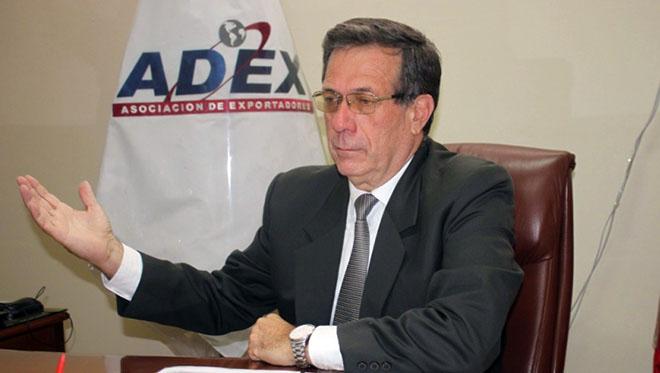 Eduardo Amorrortu, presidente de ADEX