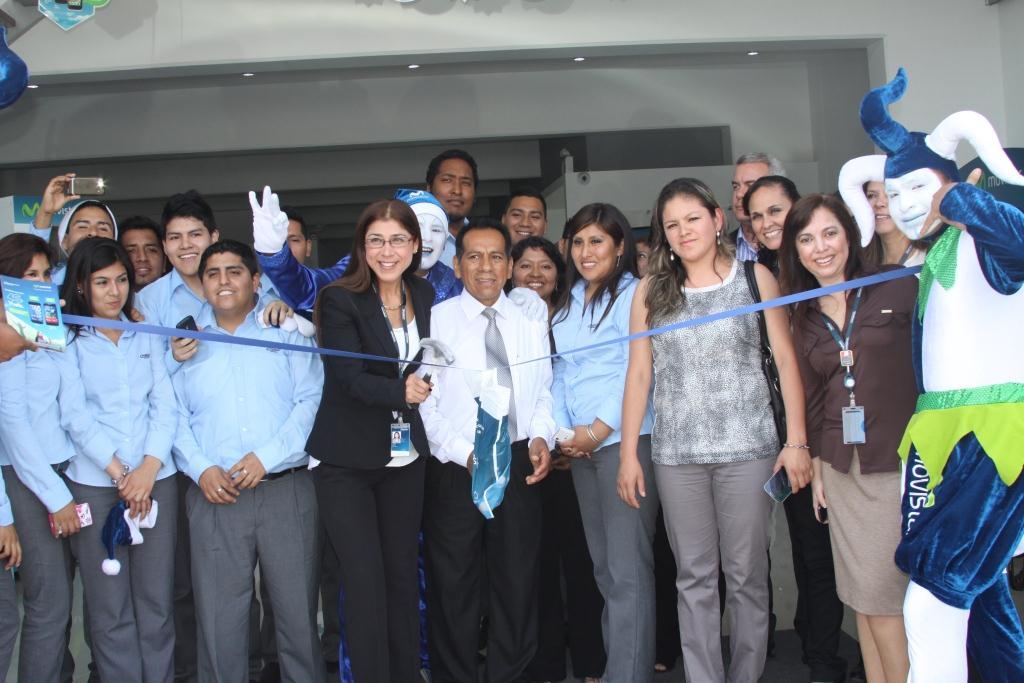 Inauguración Tienda Movistar VES 2