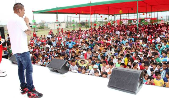 Refinería Conchán compartió la Navidad con más de 1,600 niños