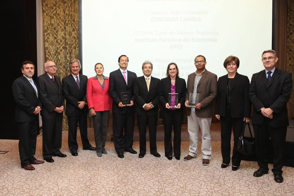 Sociedad Peruana de Derecho Ambiental recibió premio Poder- On Think Tanks