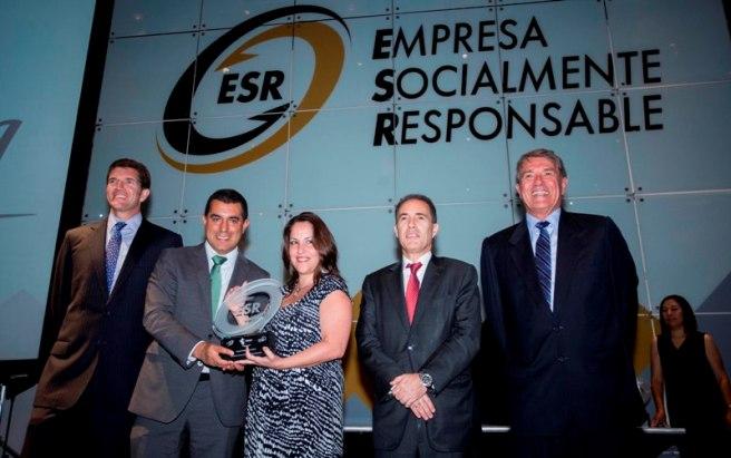 Telefónica recibe distintivo Empresa Socialmente responsable