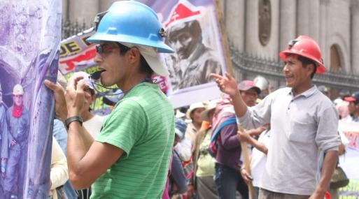 Uchucchacua huelga