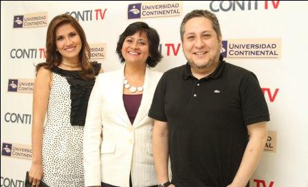 Universidad Continental lanza Conti TV, Canal de TV Online