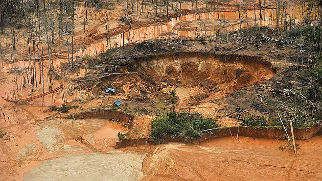 minería ilegal destruye