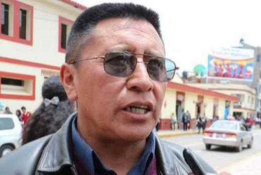 Efraín Bonifacio Castillo – Presidente de mineros artesanales de Puno (Foto: Los Andes)