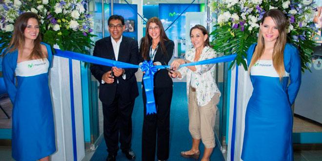Movistar inaugura nueva tienda en Plaza Norte