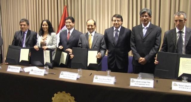 Suscriben contratos para construcción del Nodo Energético del Sur