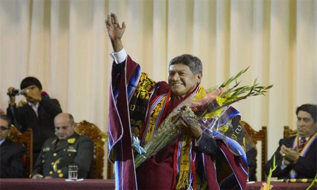 René Concha en ceremonia de entrega de credenciales. (Foto: La República)