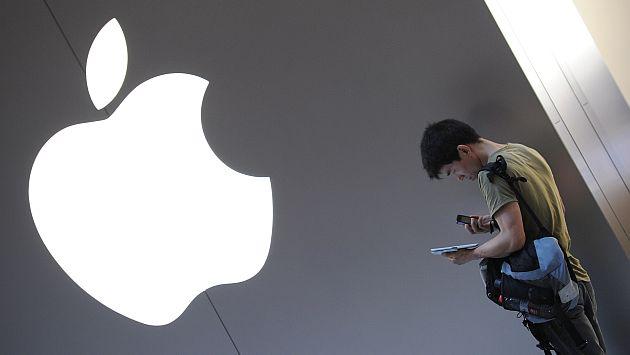 Apple tiene un valor de US$104,680 millones en el estudio. (AFP)