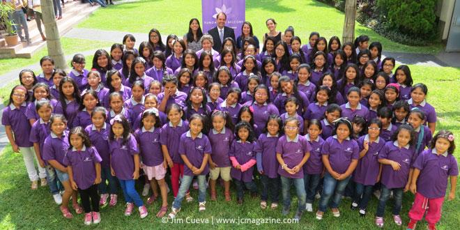 Ceremonia Programa Becas Escolares de Fundación Belcorp
