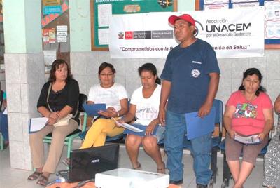 Líderes de Villa El Salvador conocieron metodología comunitaria de UNACEM