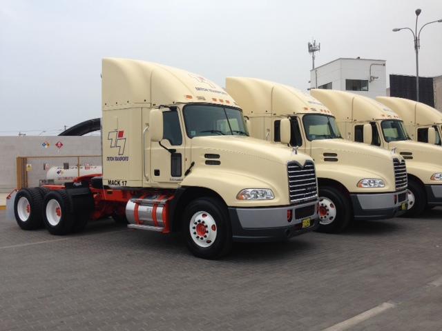 Triton Transports adquiere nueva flota de camiones
