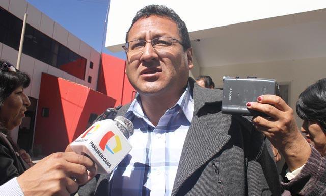 Wilfredo Álvarez, secretario general de la Federación Departamental de Trabajadores del Cusco (FDTC). Foto: La República