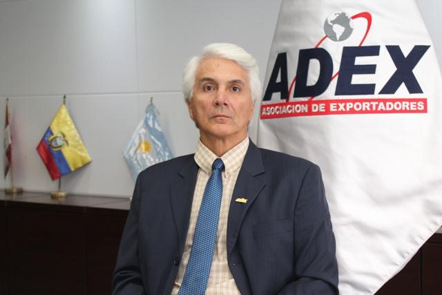 Gastón Pacheco, Presidente de ADEX.