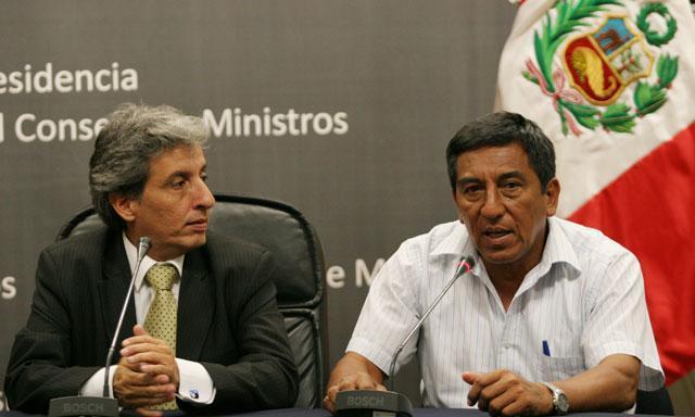 Manuel Pulgar Vidal y Luis Otzuka (Foto: La República)