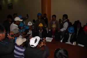 Mineros exigen al Gobierno oficinas de formalización y apoyo de un equipo técnico