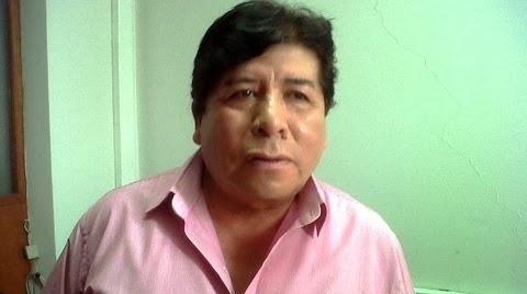 Noé Soto, presidente del Consejo Regional de Tacna.