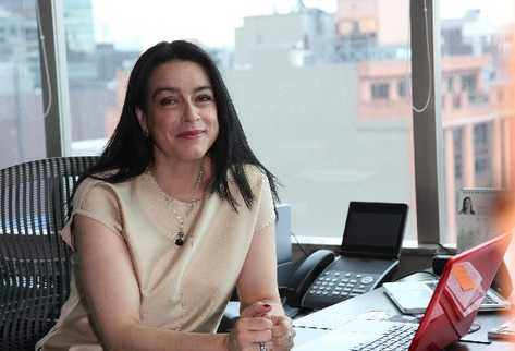 Sandra Fonseca, presidente de la empresa de Energía de Bogotá.