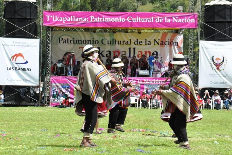 T´ikapallana es declarado Patrimonio Cultural de la Nación