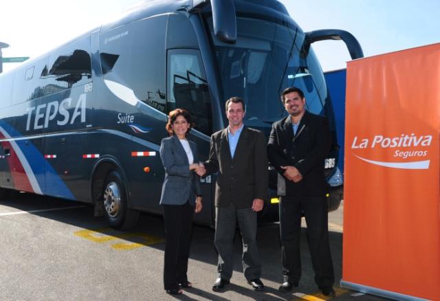 Tepsa y La Positiva lanzan el primer seguro con asistencia  para pasajeros de buses interprovinciales