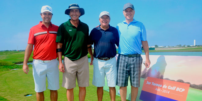 Tercer Torneo de Golf BCP