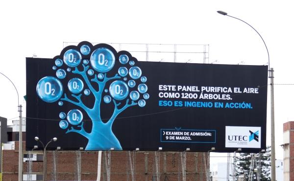 UTEC sorprende nuevamente con panel que purifica el aire
