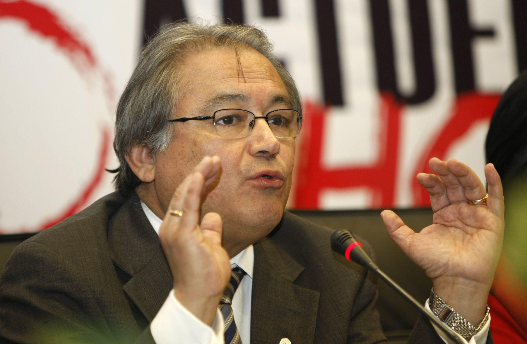 Walter Albán: Se resguardará orden público ante movilización