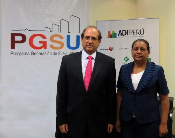 ADI Perú y el Ministerio de Vivienda organizaron primera mesa de diálogo para presentar proyectos del Estado