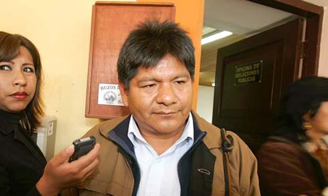 Antolín Huáscar, dirigente de la CNA.