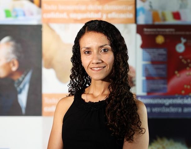 Bertha Vallejos, gerente de comunicaciones de Roche Perú (Foto: Aptitus)