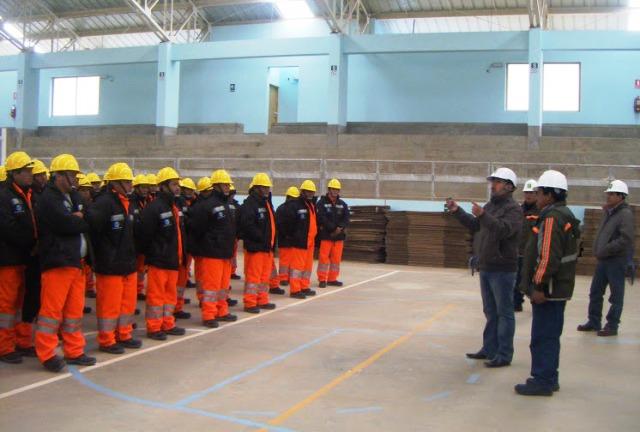 Chinalco trabajadores