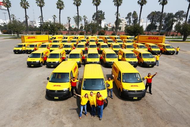 """DHL Express Perú presenta su nueva flota """"verde"""""""