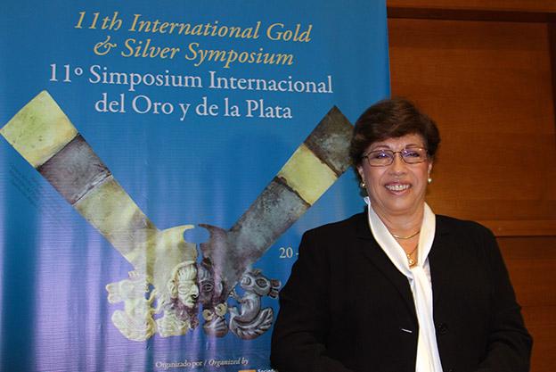 Eva Arias de Sologuren, presidenta de la SNMPE.