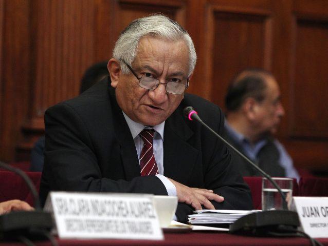 Juan Ortiz, director general de Hidrocarburos del MEM.