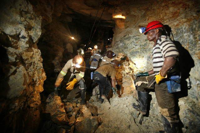 South Africa - Industry - The World's Deepest Gold Mine