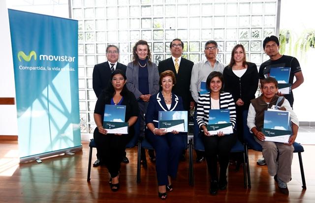 """Movistar y Produce premian a ganadores del """"Premio Nacional a la MYPE para la inclusión productiva"""""""