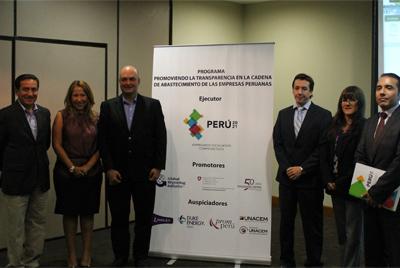 Perú 2021 promueve la transparencia en la cadena de abastecimiento de las empresas peruanas